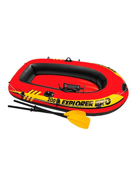 Надувная лодка Intex 58357 Explorer Pro 200 Set 2 места+насос и весла
