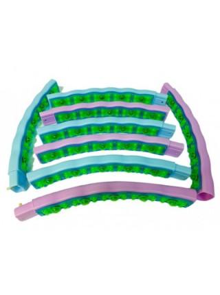Тяжелый обруч для похудения 2,3 кг Хула Хуп с магнитами (JS-6019) 108 см.