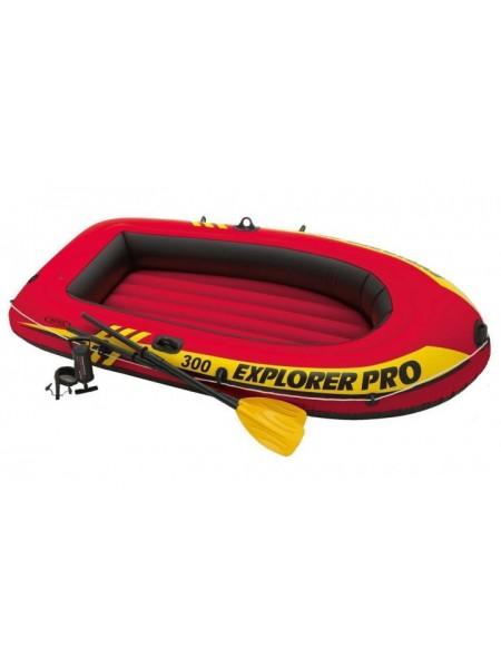 Надувная лодка Intex 58358 Explorer Pro 300 Set 2 места+насос и весла