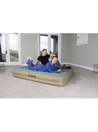 Надувная кровать Bestway 69003 (203х152х33 см) - электронасос