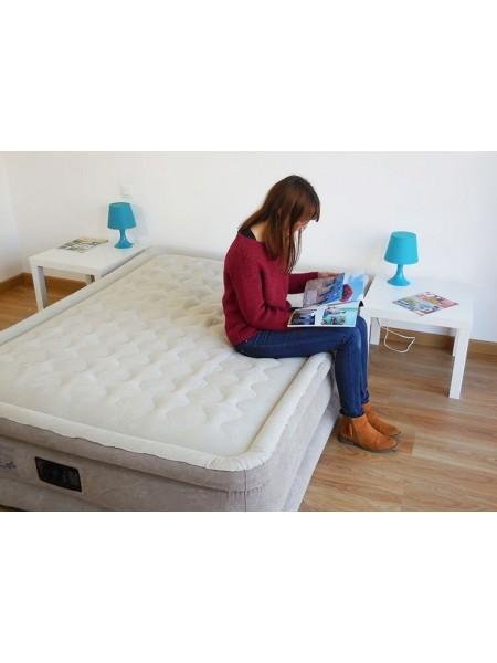 Надувная кровать Intex 64428 (203х152х46 см) с электронасосом