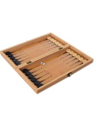 Шахматы деревянные 3в1 35х35 см Нарды, Шашки (MS 822-35)