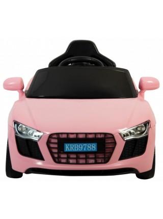 Детский электромобиль Siker Cars 788 розовый (42300111)